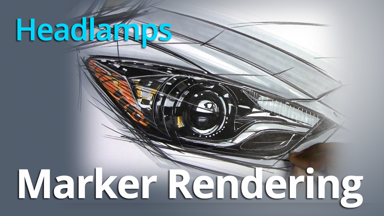 Marker Rendering – Rendering Automotive Headlamps