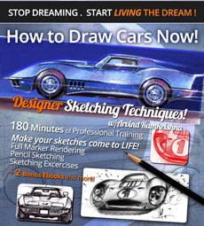How to Draw Cars Now: Designer Sketching Techniques