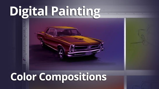 COLOR COMPOSITIONS FOR DIGITAL PAINTINGS