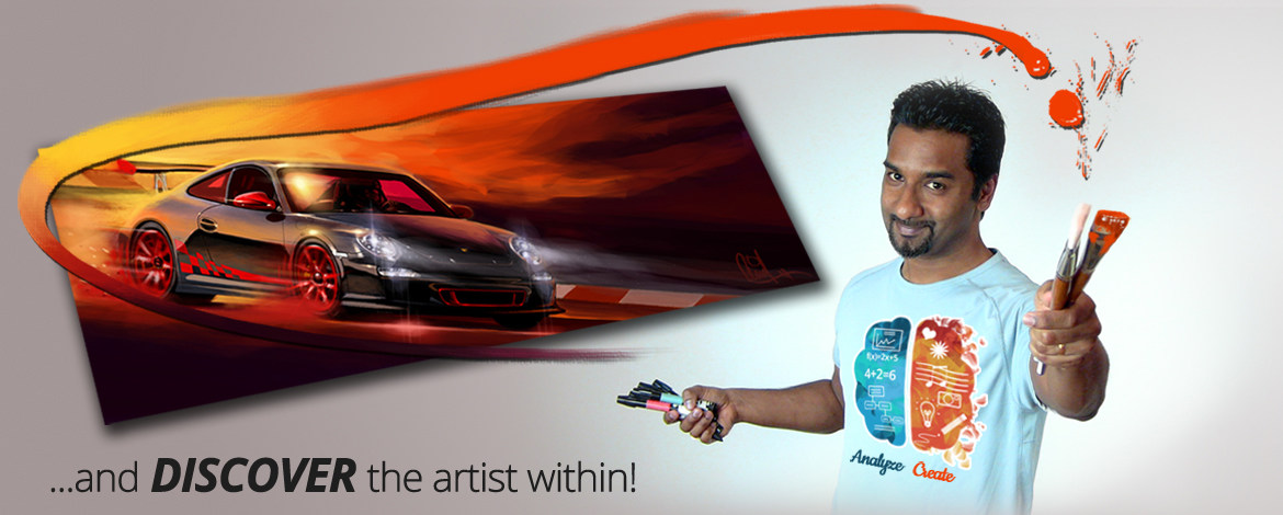 Discover the Artist within with Arvind