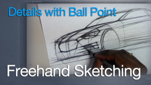 Full Narrated Tutorial: Detail Sketching with a Ball Point Pen