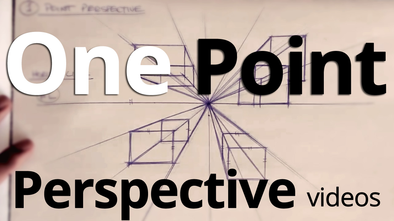 One Point Perspective Drawing Made Easy